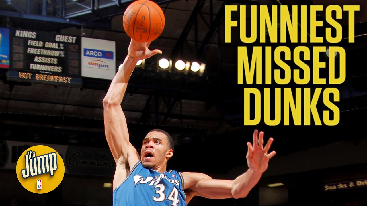 The funniest missed dunks in NBA history | The Jump
