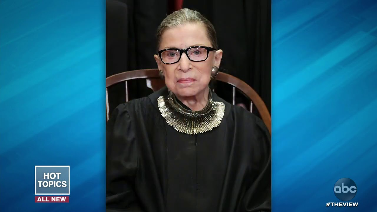Well Wishes to Ruth Bader Ginsburg After Hospital Discharge | The View