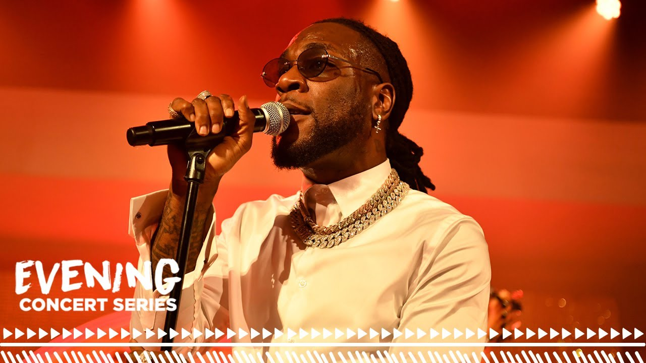 """Burna Boy Performs """"African Giant"""" and """"Collateral Damage"""" at the ESSENCE Festival of Culture"""