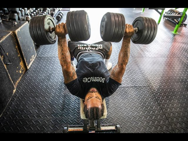 Dave East working out [VHS]