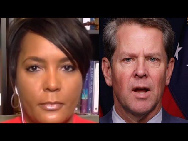 Georgia Governor Brian Kemp Drops Lawsuit Against Atlanta Mayor Keisha Lance Bottoms Over Mask