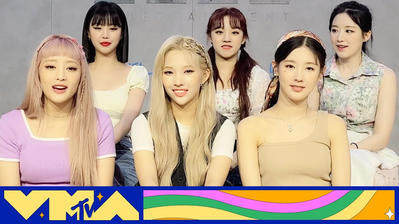 (G)I-DLE on Their VMA Nomination & Letting Each Member Shine   MTV News