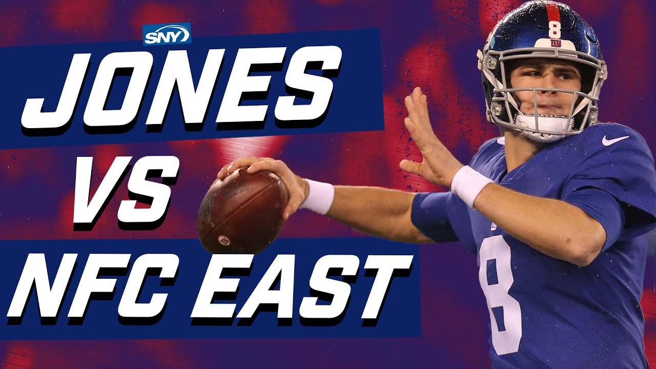 How does Daniel Jones stack up against the other NFC East QBs? | What Are The Odds? | SNY