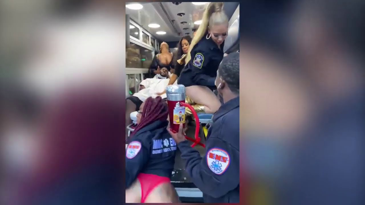IG Comedian Wilds Out in New York City Ambulance & Makes the News!