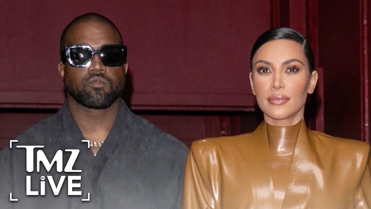 Kim Kardashian and Kanye West in Tropical Island Fortress to Avoid Paparazzi   TMZ Live