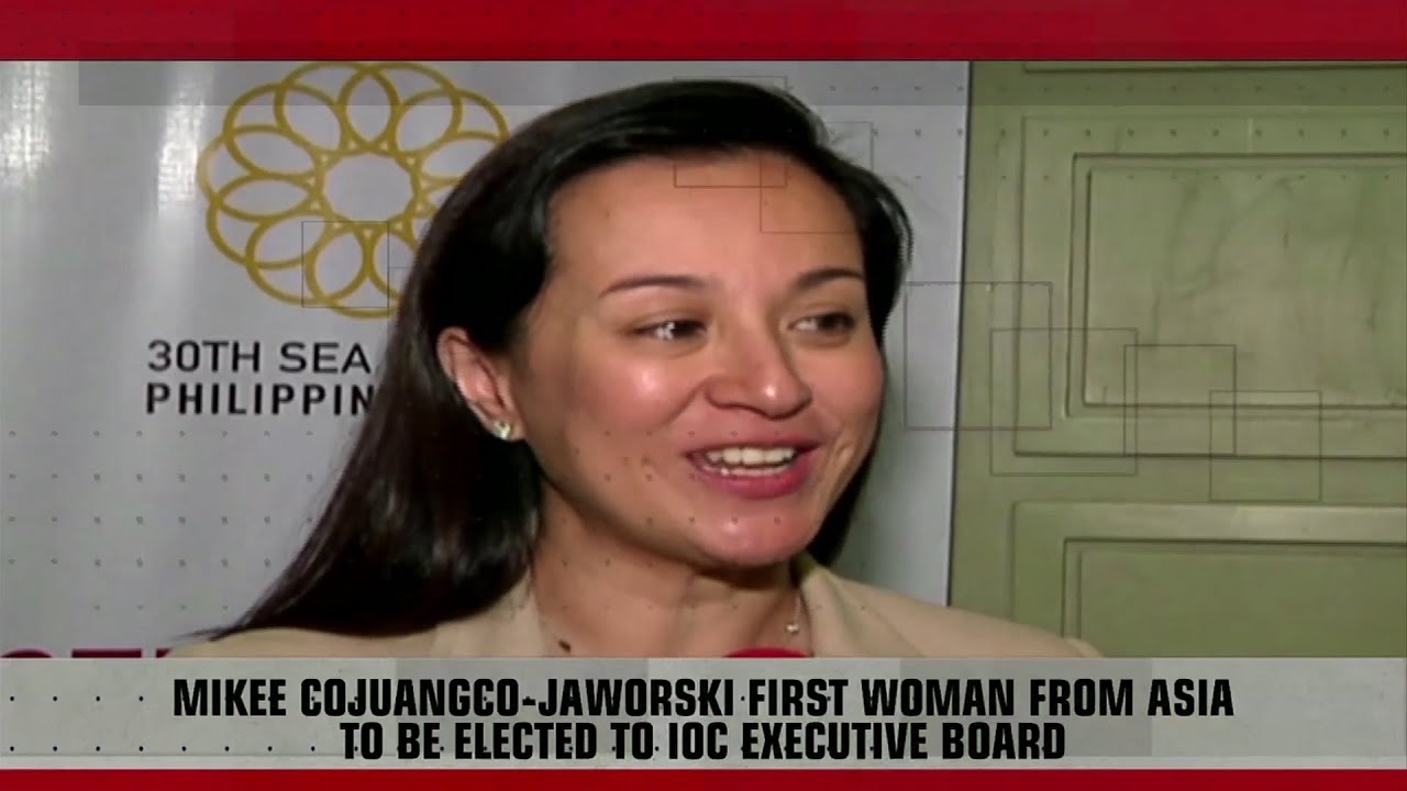 Mikee on first Asian woman as IOC executive board member