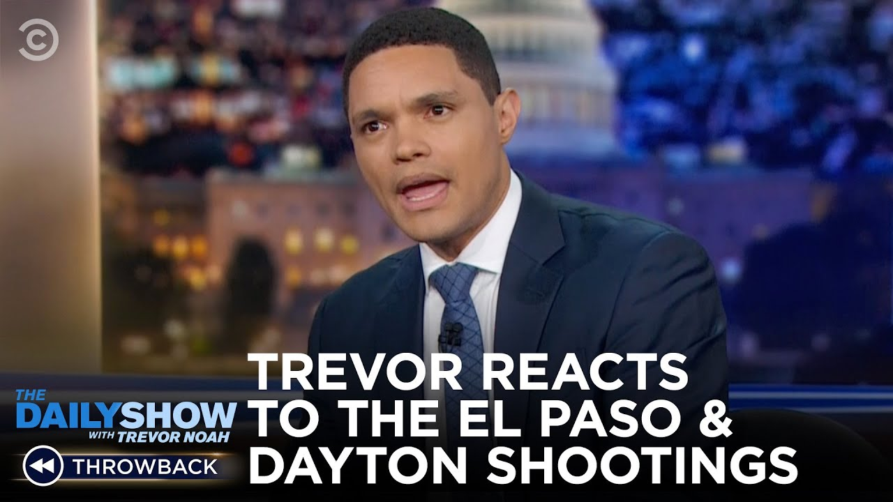 One Year Ago: The El Paso & Dayton Shootings | The Daily Show