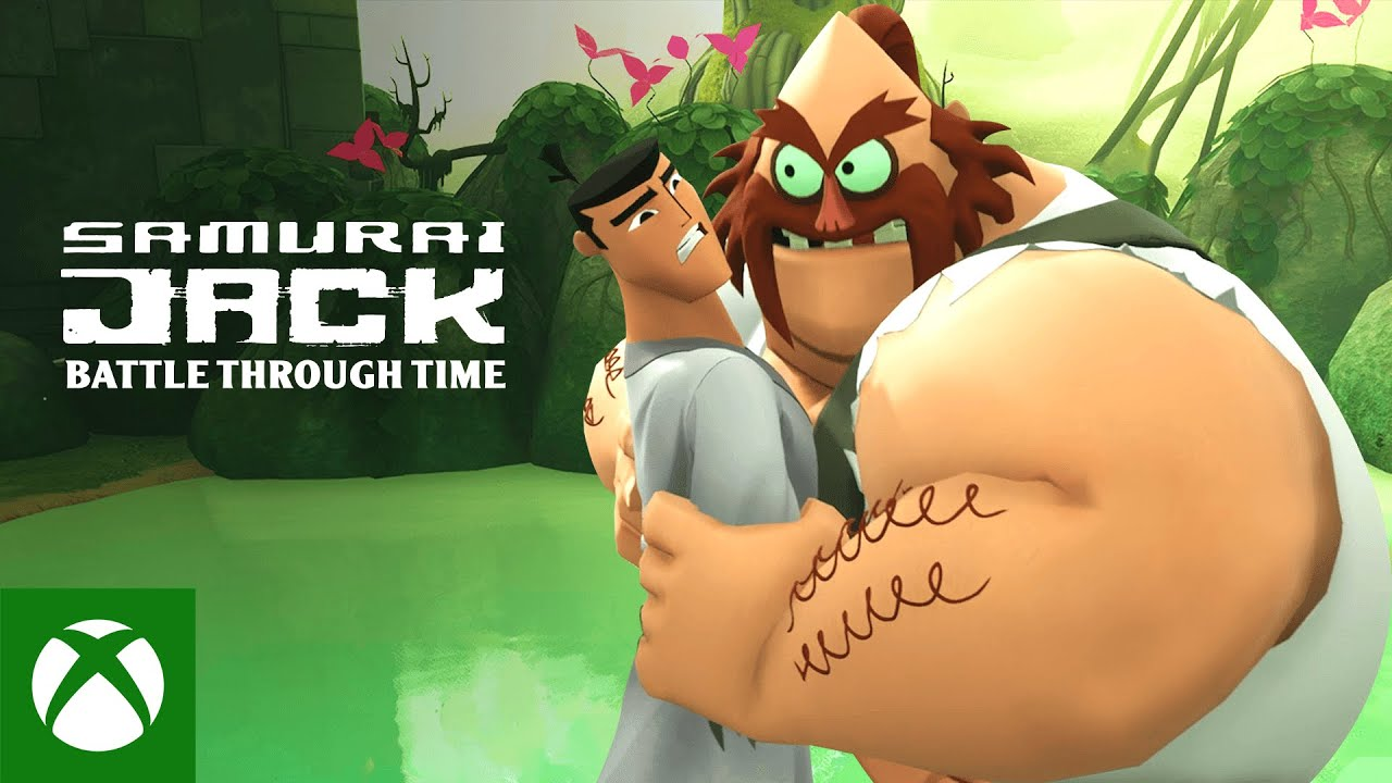 Samurai Jack: Battle Through Time Launch Trailer - Featuring John DiMaggio
