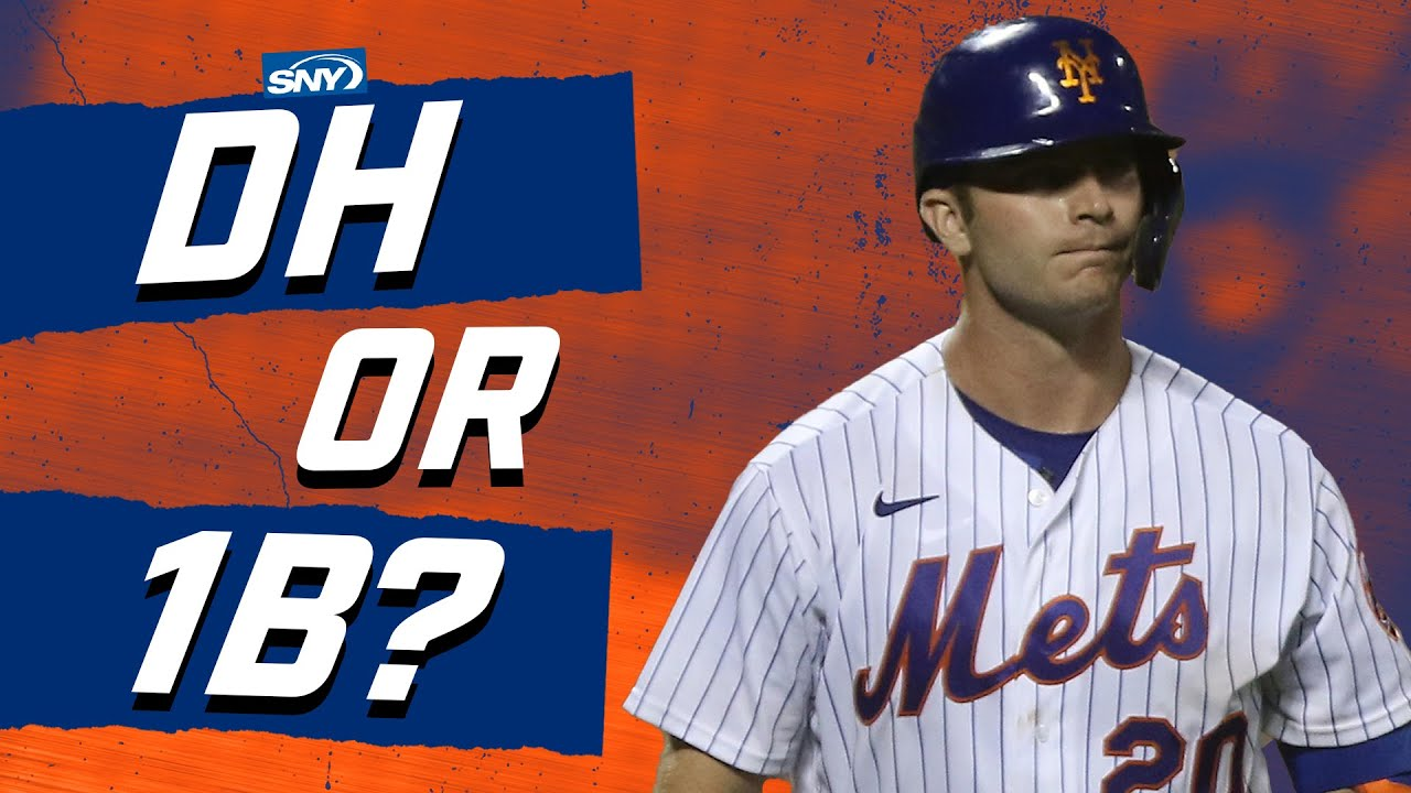 Should the Mets put Pete Alonso in the DH role? | Baseball Night in New York | SNY