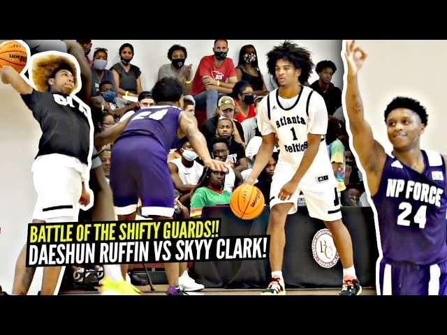 Skyy Clark & JD Davison TEAM UP But 5'9 Daeshun Ruffin SHOCKS EVERYONE vs Powerhouse Atl Celtics!