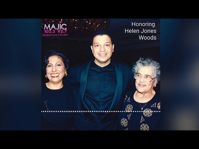 Tribute To Helen Jones Woods On The Donnie Simpson Show With Tony Perkins