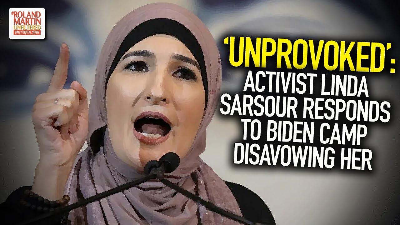'Unprovoked': Activist Linda Sarsour Responds To Biden Camp Disavowing Her