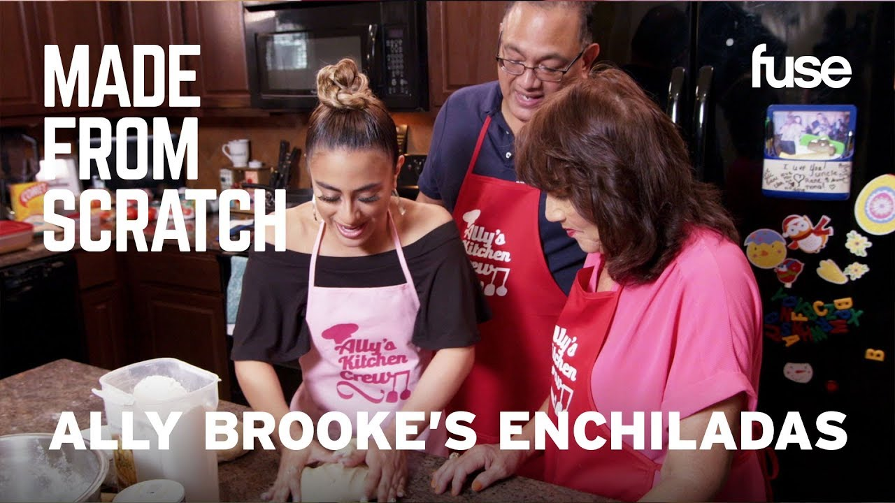 Ally Brooke's Enchiladas: How To Make It At Home | Made from Scratch | Fuse