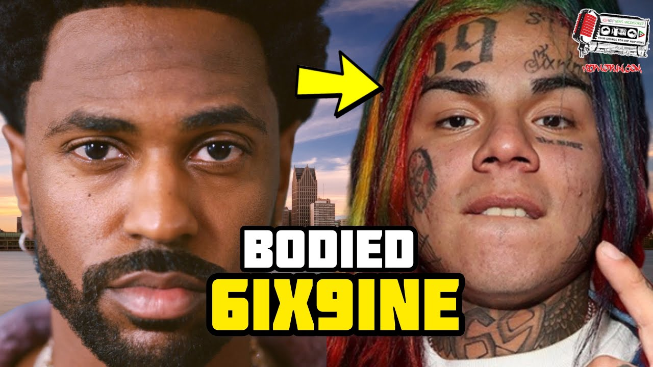 Big Sean Just Bodied 6ix9ine On The Charts!