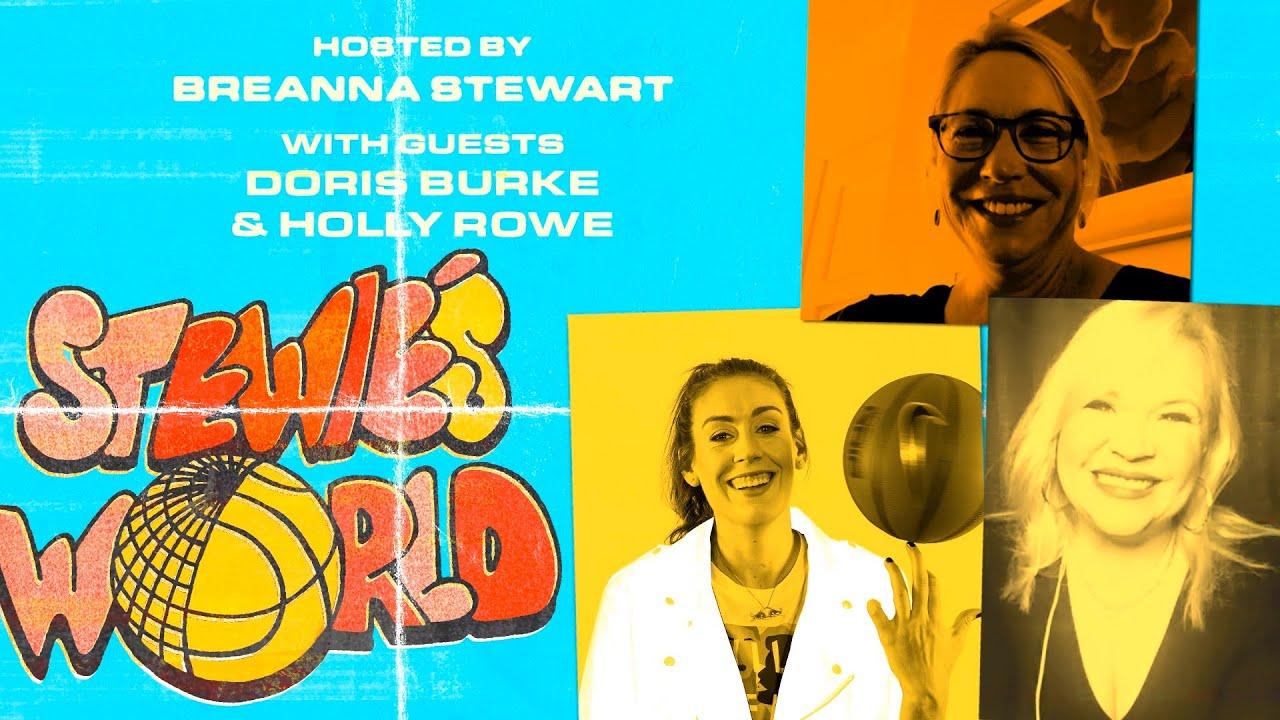 Breanna Stewart talks Social Justice & WNBA with Holly Rowe and Doris Burke | STEWIE'S WORLD