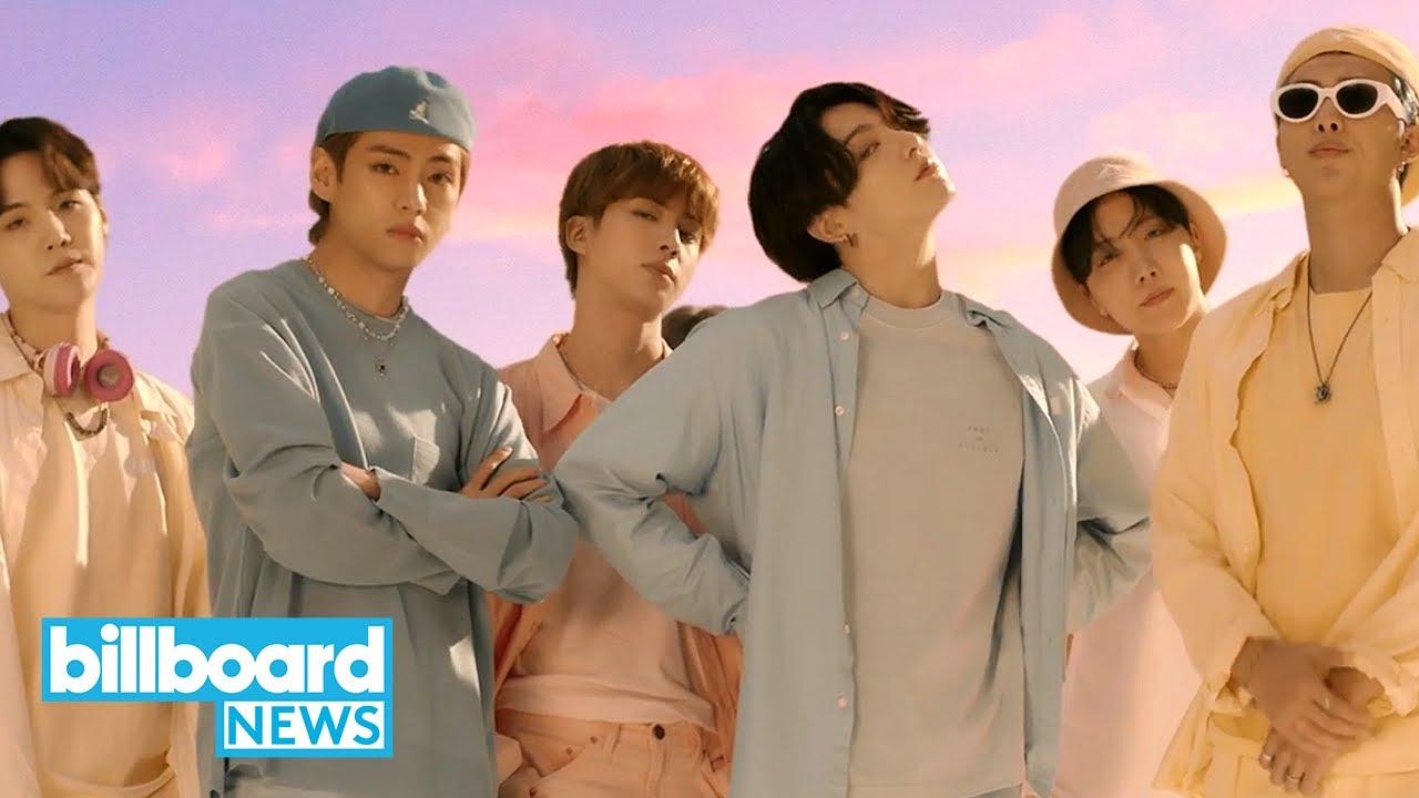"BTS' ""Dynamite"" Debuts at No. 1 on the Hot 100 & More Chart Moves   Billboard News"