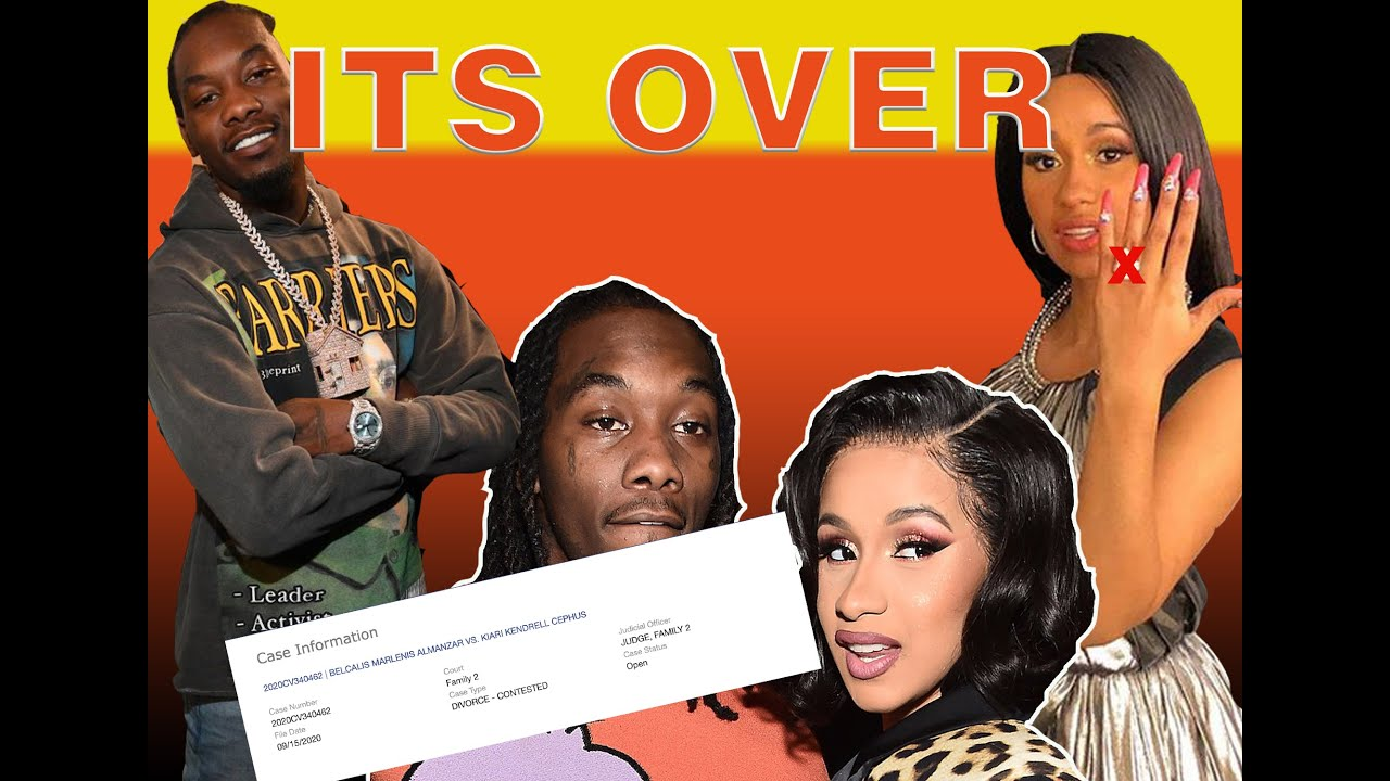 Cardi B files for divorce from Offset + Offset is f!ghting for his family