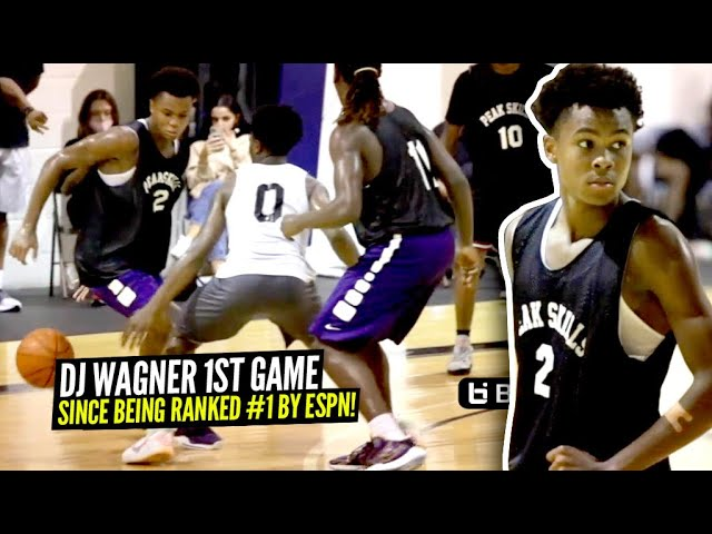 DJ Wagner FIRST Game Since Being Ranked #1 In His Class! Shows Off His Handles & Scoring!