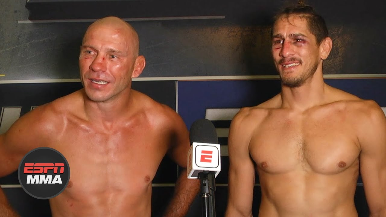 Donald Cerrone, Niko Price talk about their majority draw | #UFCVegas11 | ESPN MMA