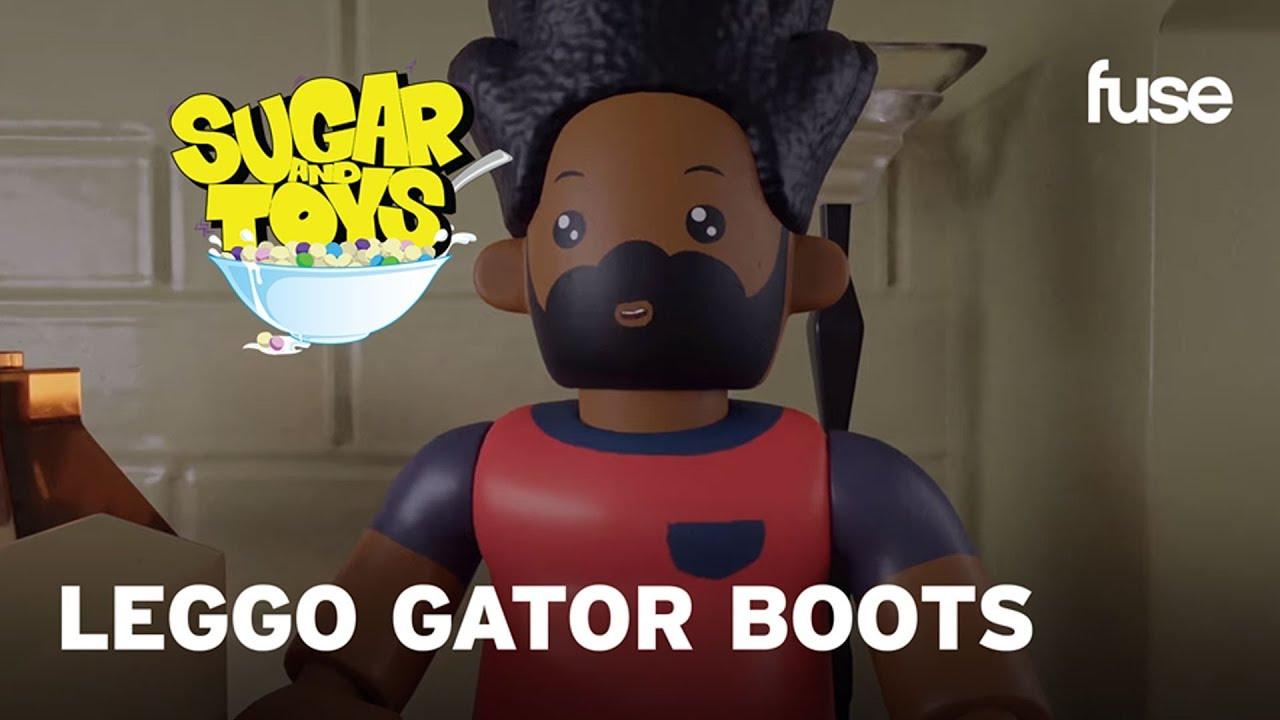 Gator Boots with the Pimped out Leggo Suits | Sugar and Toys | Fuse