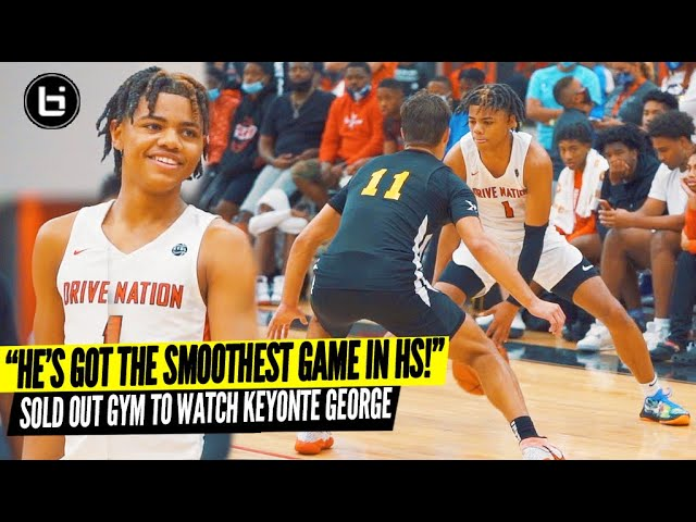 """""""He's Got The Smoothest Game in HS!"""" Keyonte George VS Louisiana Best AAU Team! SOLD OUT EVENT"""
