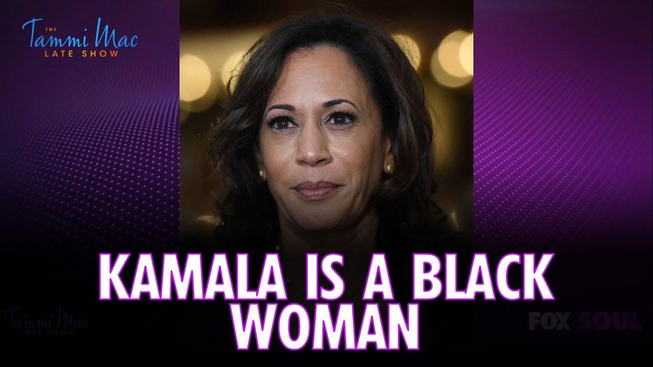 """Kamala Harris is a Black Woman but NOT an African American Woman   The Tammi Mac Late Show"