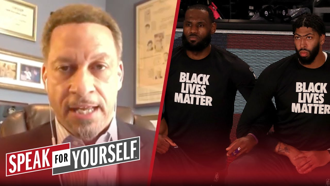 LeBron & other NBA players have the power to inspire change — Chris Broussard | SPEAK FOR YOURSELF