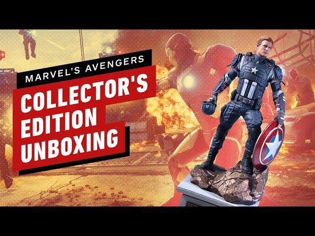 Marvel's Avengers: Earth Mightiest Edition Unboxing