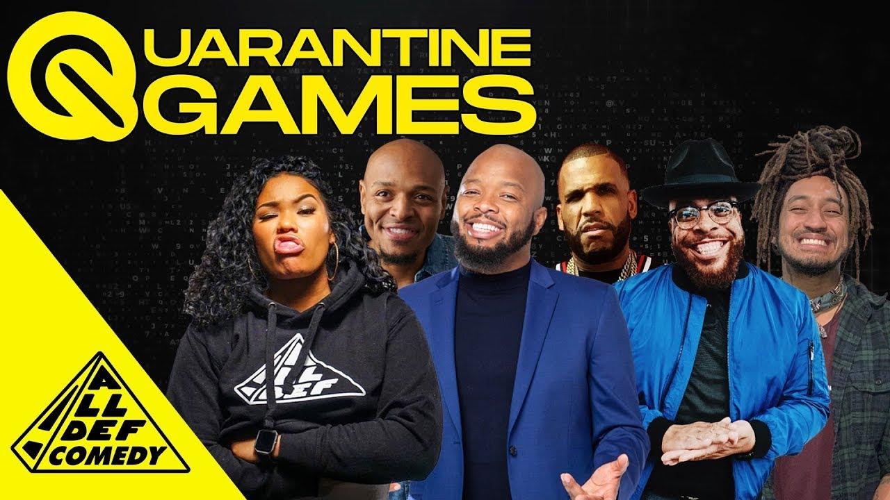Quarantine Games | Ep 23: Scattergories Pt.2 | All Def
