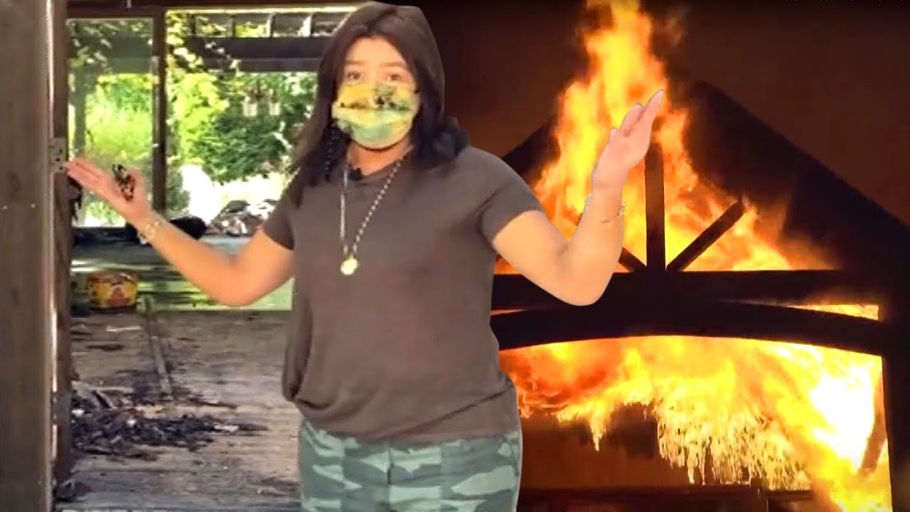Rachael Ray Shares Footage of Shocking Home Fire Aftermath ...Rachael Ray House Fire Today
