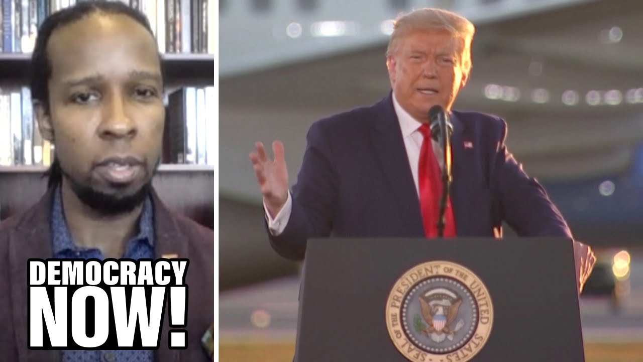 "White Supremacist in the White House: Ibram X. Kendi on Trump's Calls for ""Law & Order"" in Kenosha"