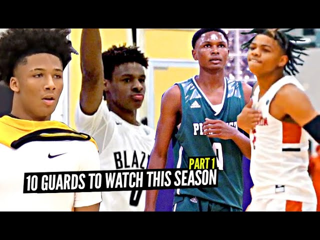 10 Exciting High School Guards To Watch This Season Part 1!! Bronny, Mikey, Thompson Twins & More!