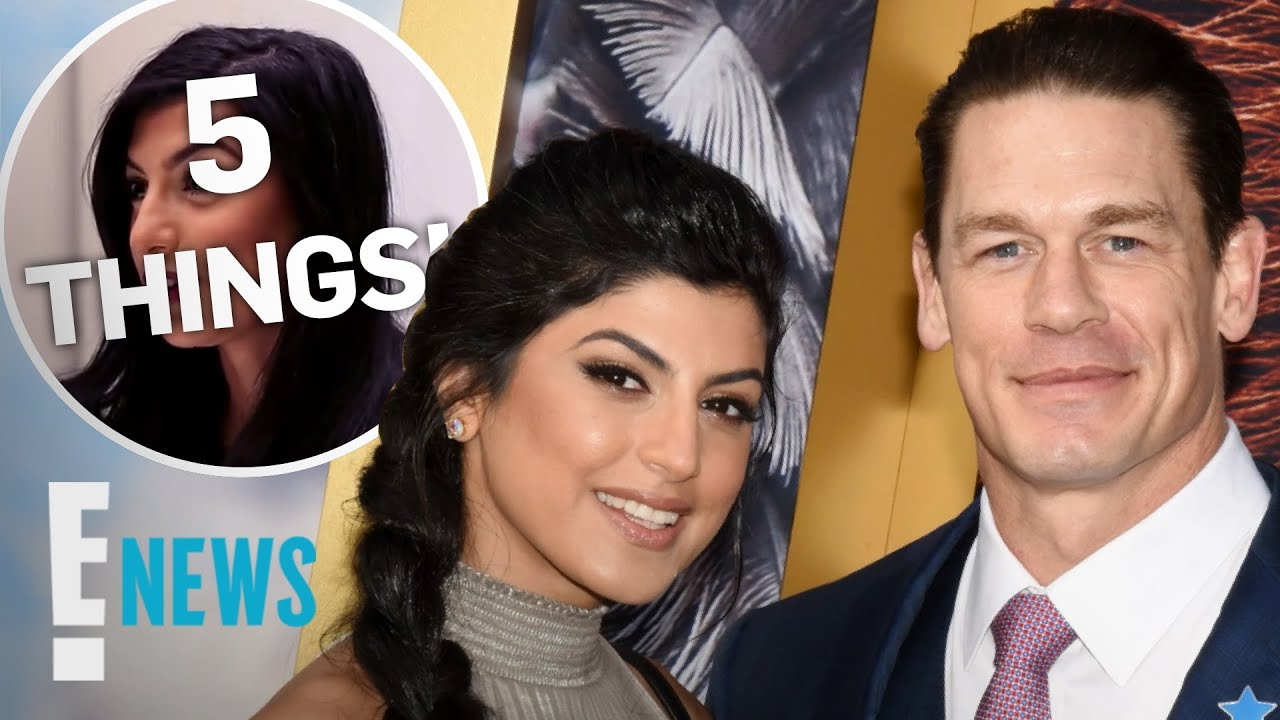 5 Things to Know About John Cena's New Wife Shay Shariatzadeh   E! News