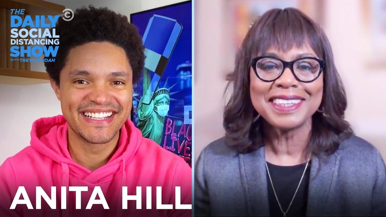 Anita Hill - Why She Chose to Endorse Joe Biden | The Daily Social Distancing Show