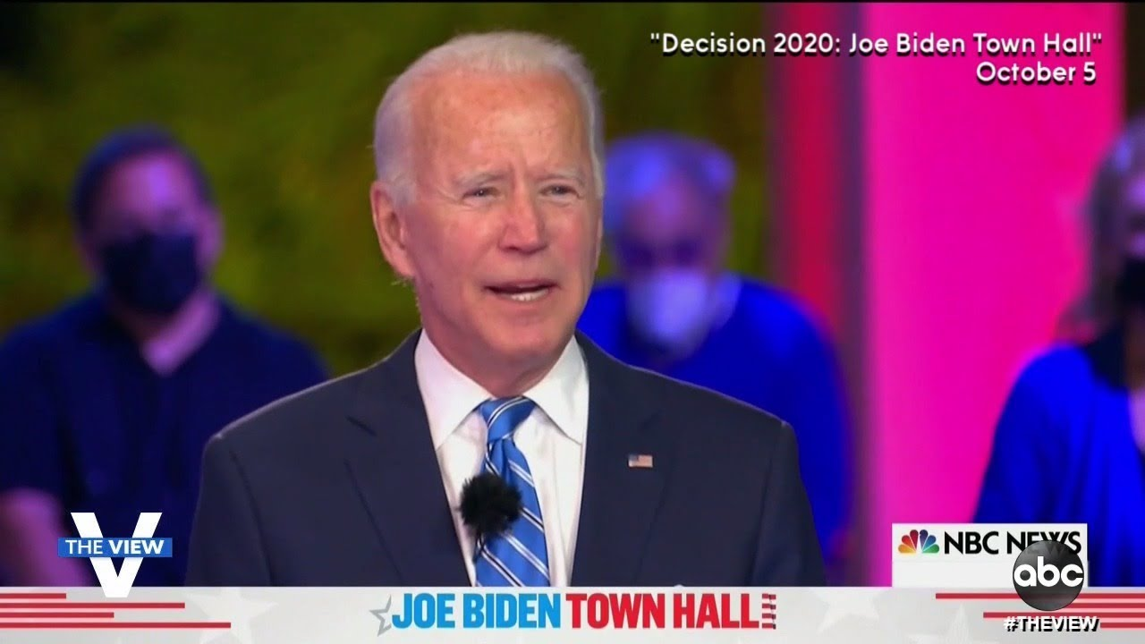 Biden Says Trump Bears Responsibility for Infection | The View
