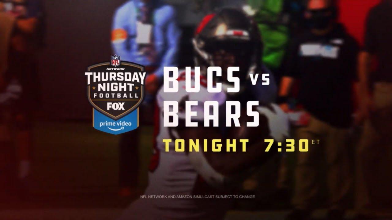 Buccaneers vs Bears | TNF on FOX | Tonight