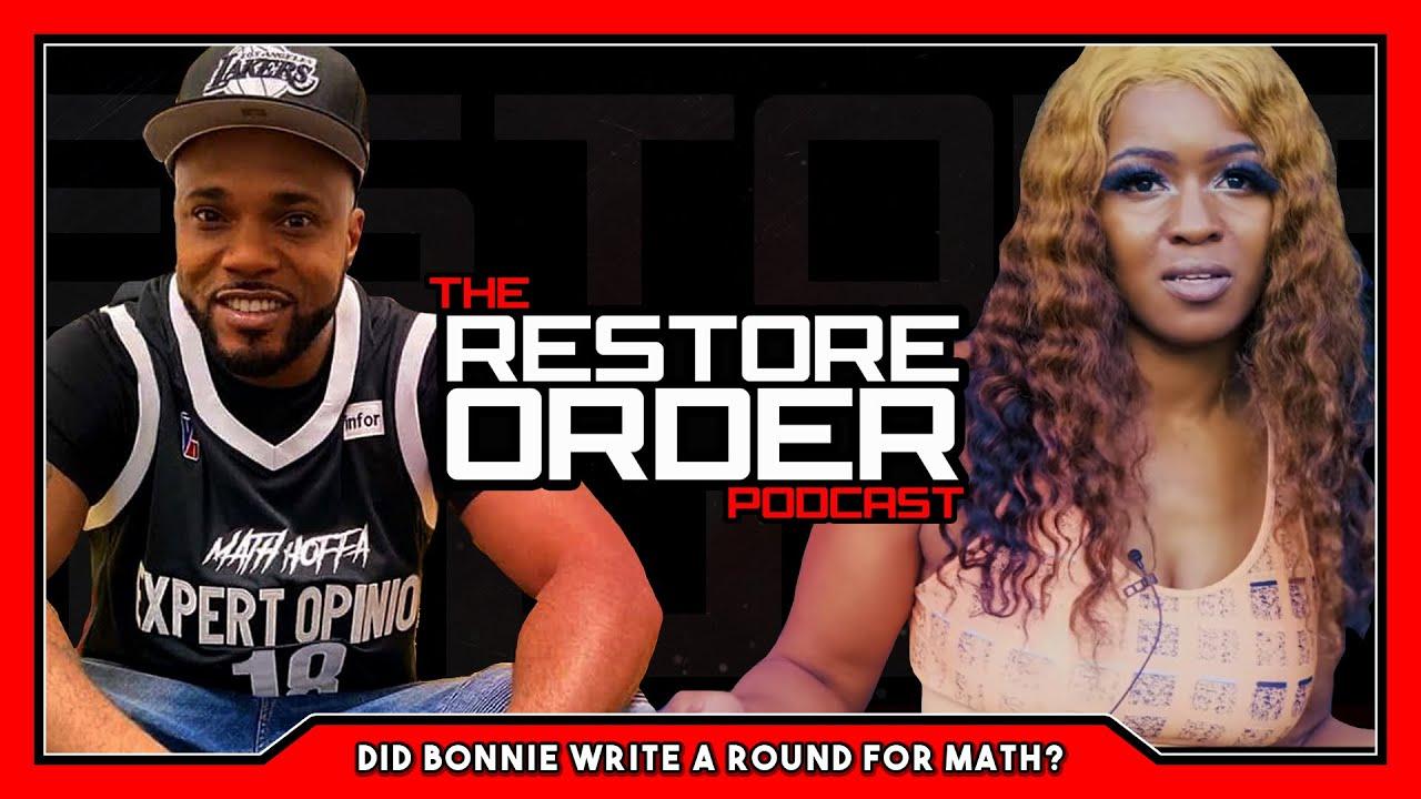 DID BONNIE GODIVA GHOSTWRITE FOR MATH HOFFA?