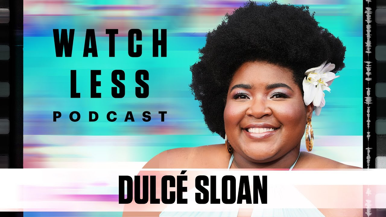 Dulcé Sloan talks Comedy, Martin, WCW, Her Podcast,  and Margaret Cho | Watch Less