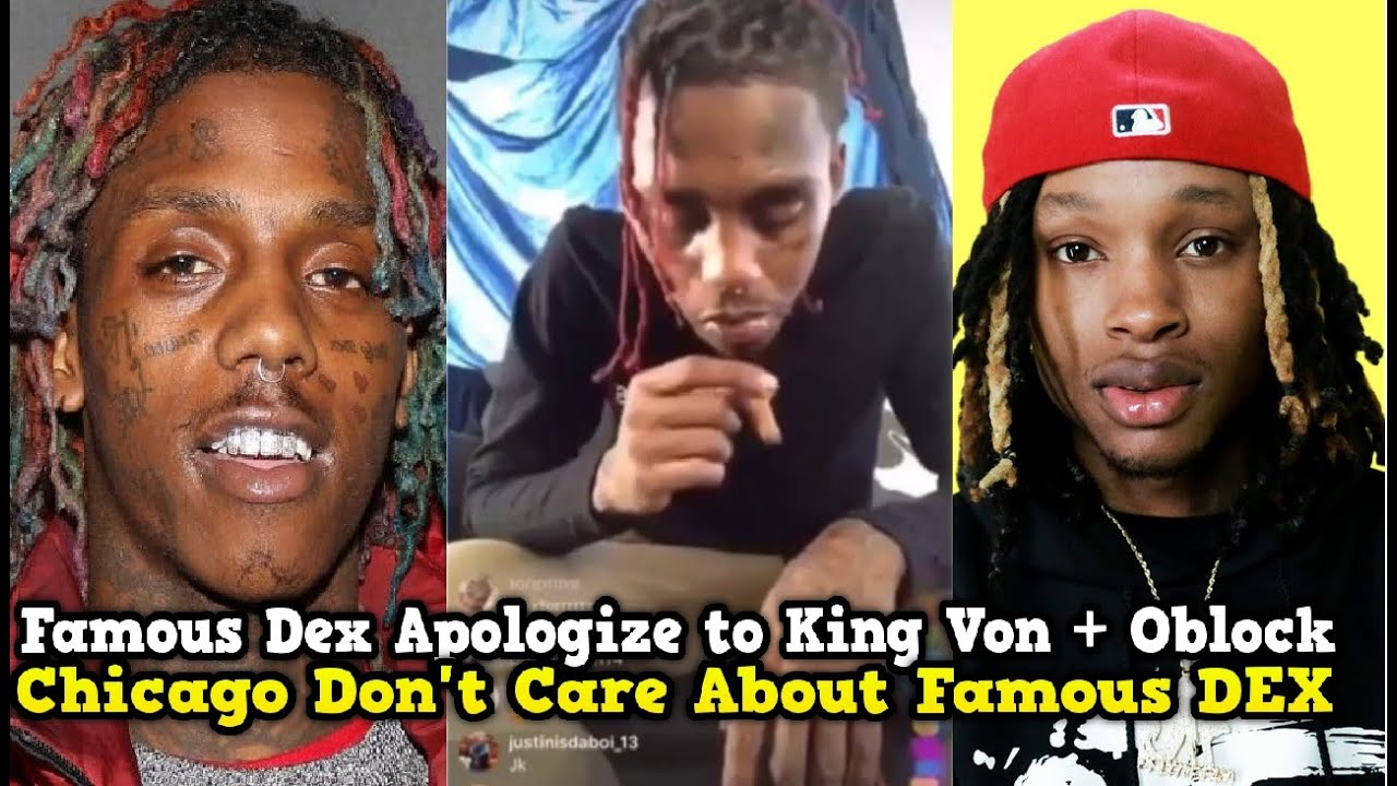 Famous Dex Gets On His KNEES!! Apologize to King Von And Oblock on FBG Duck Death!! #FBGDUCK
