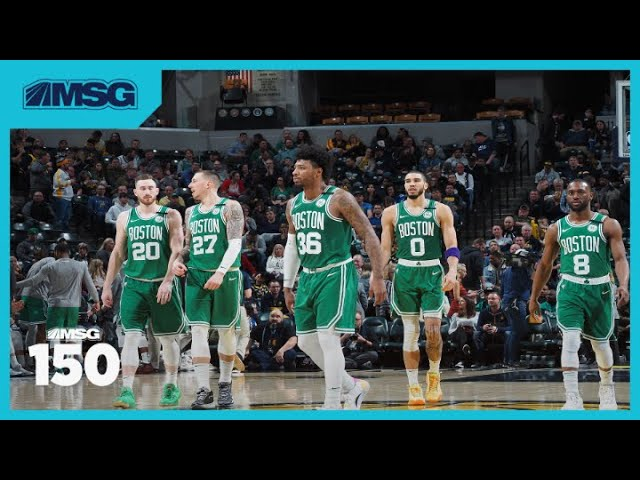 Former Celtic Brian Scalabrine Weighs In On Boston's Potential 2020 Title Run | The MSG 150