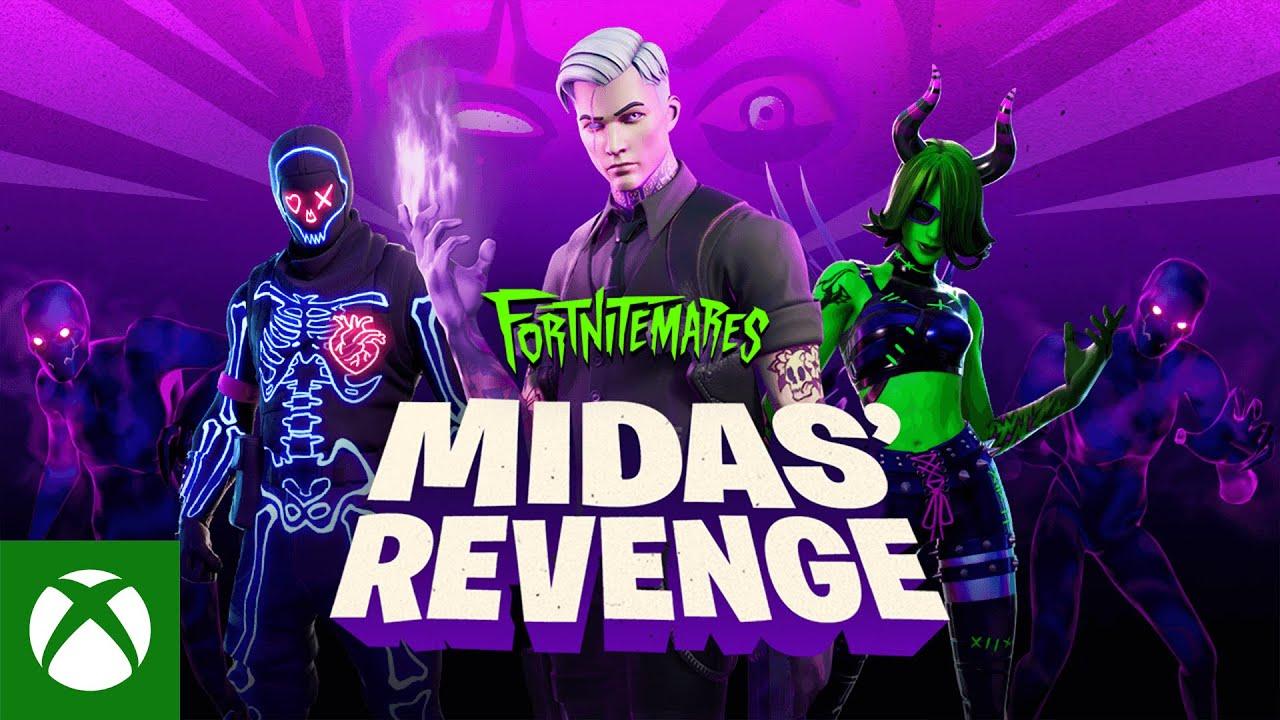 Fortnitemares 2020 Midas' Revenge Gameplay Trailer - Fortnite