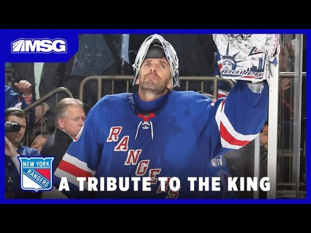 Henrik Lundqvist Tribute: The Best Saves & Moments of the King's Career | New York Rangers