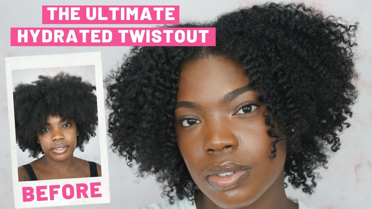 HOW TO Achieve A HYDRATED Twistout