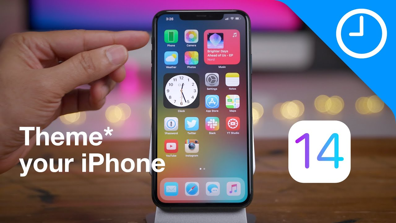 iOS 14 - theme* your iPhone!