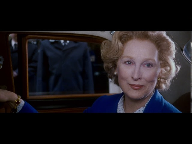 Iron Lady then On Blu-Ray, DVD and Digital Now