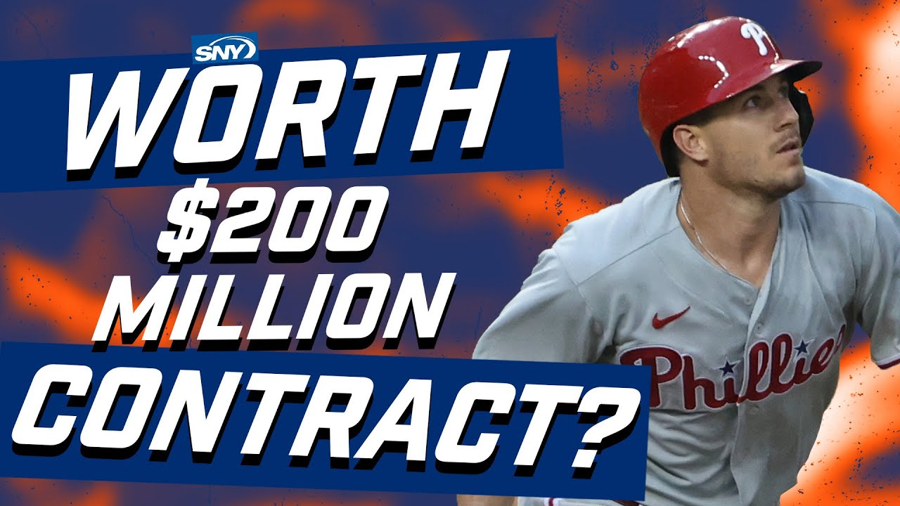 Is J.T. Realmuto really worth a $200 million dollar contract? | Baseball Night in New York | SNY