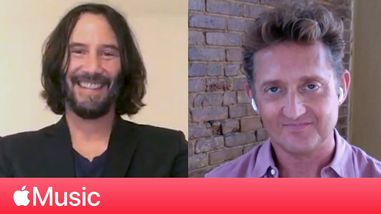 Keanu Reeves and Alex Winter: 'Bill & Ted Face The Music' and George Carlin | Apple Music