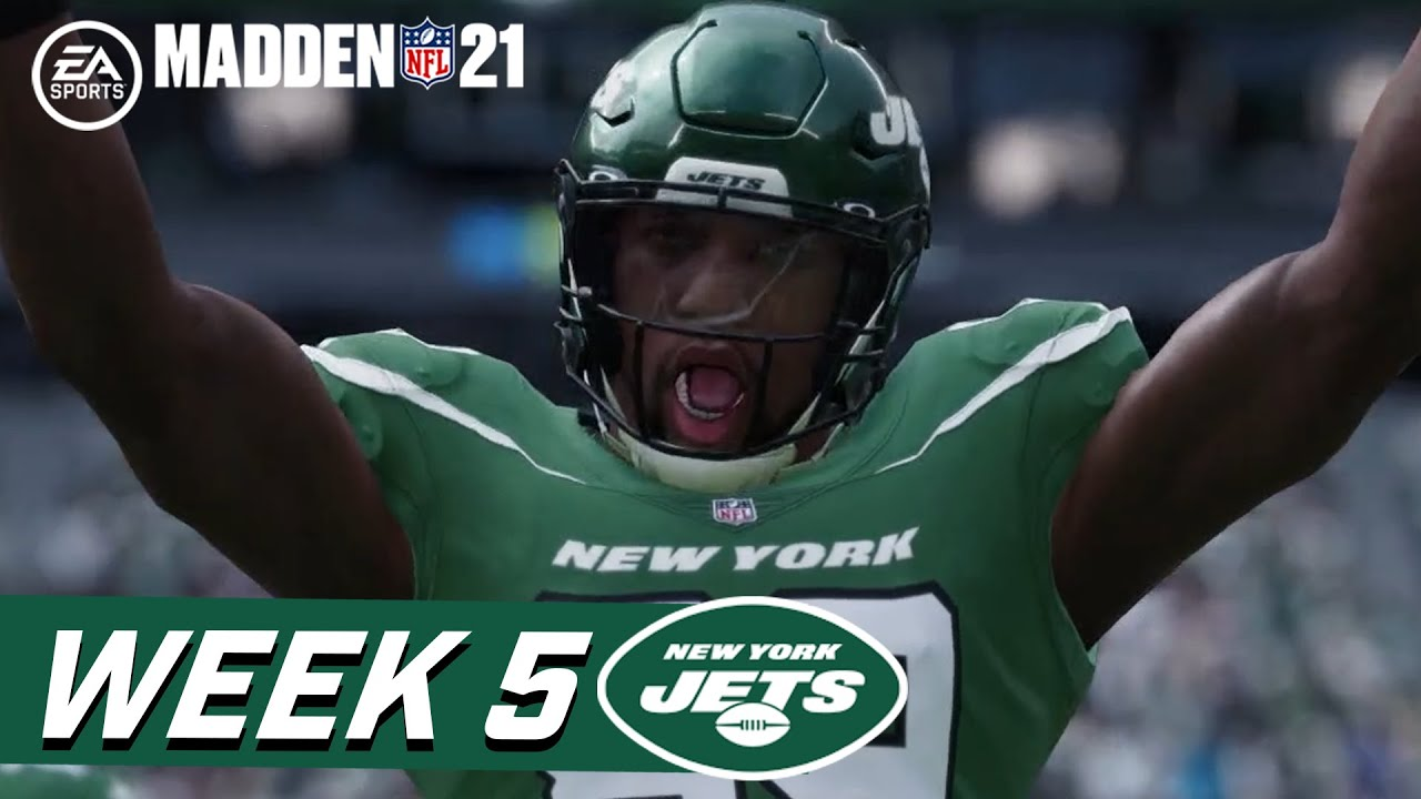 Madden 21: Jets vs. Cardinals (Week 5)