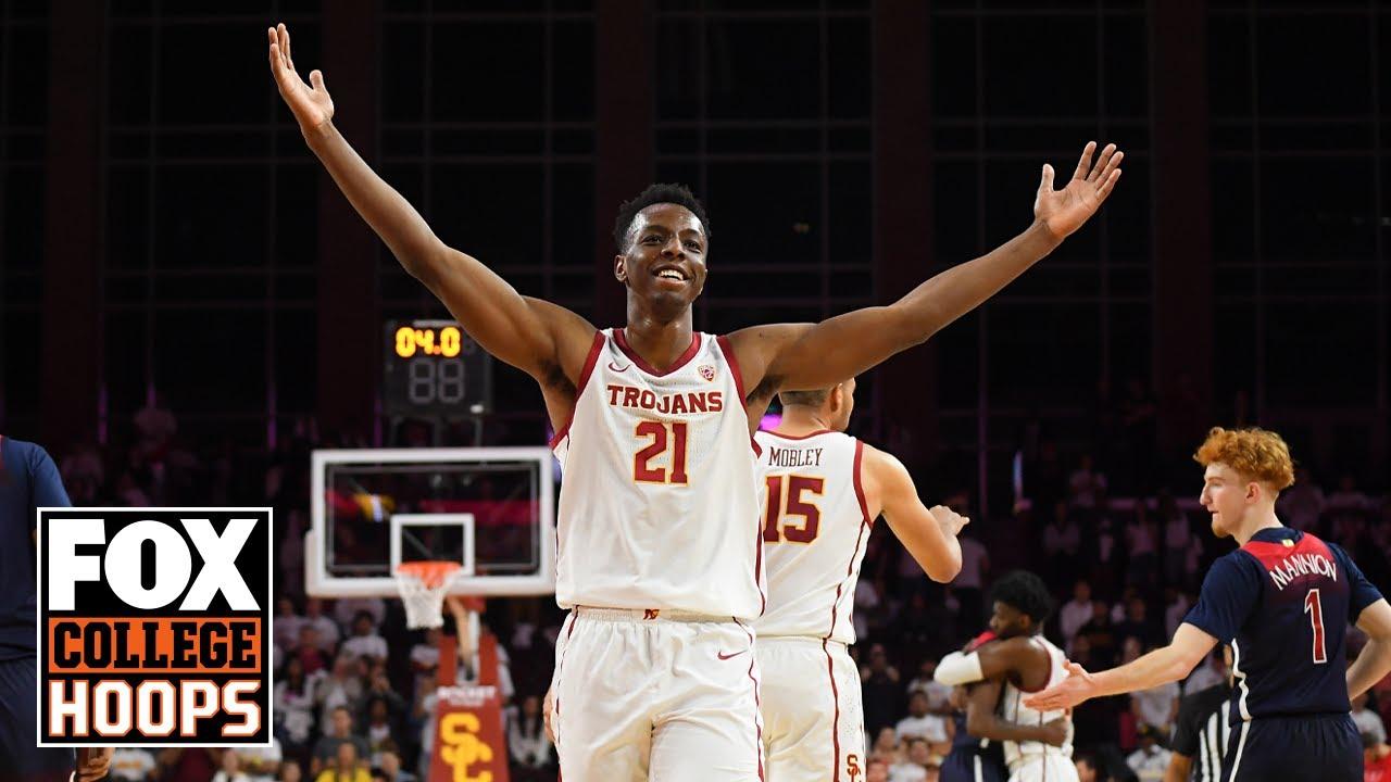 NBA Draft Prospect, Onyeka Okongwu, on Big Man Energy, the Ball Brothers, & more | FOX COLLEGE HOOPS