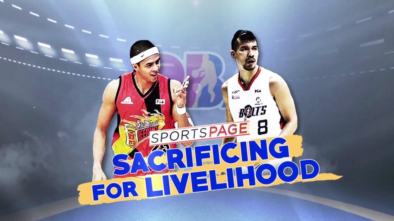 PBA Bubble: Sacrificing for Livelihood   Sports Page